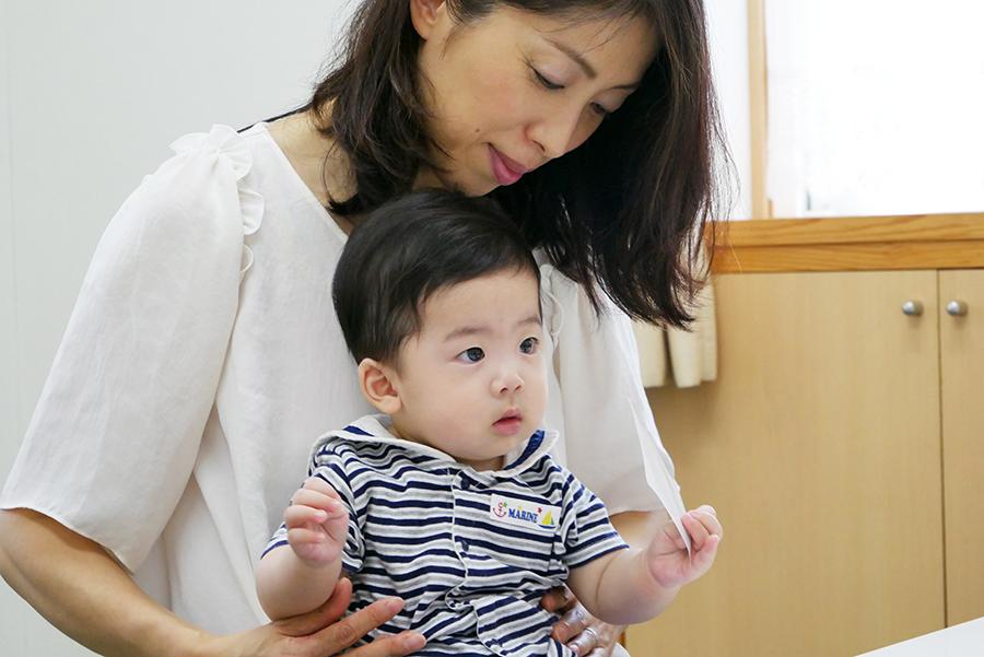 幼児コース「0〜1歳クラス」