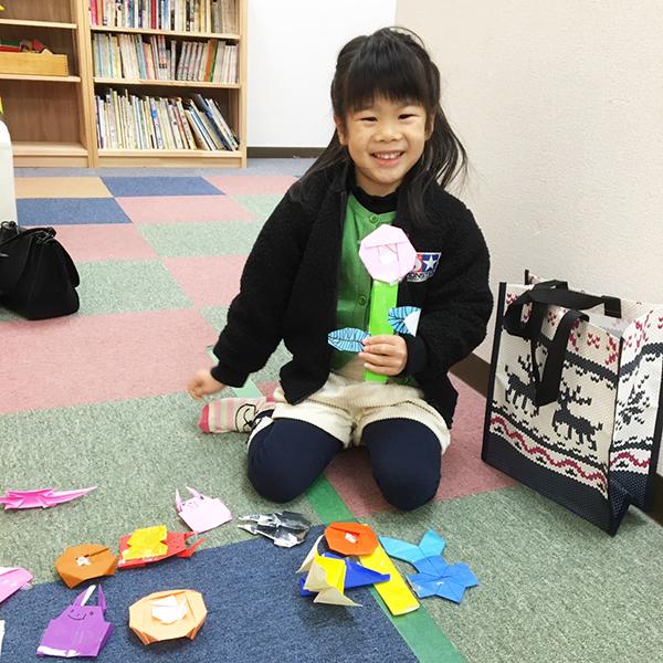 折り紙の作品