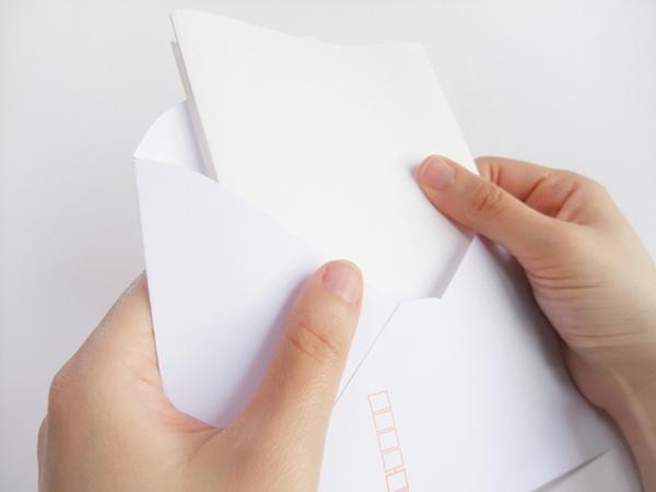 手書きの手紙