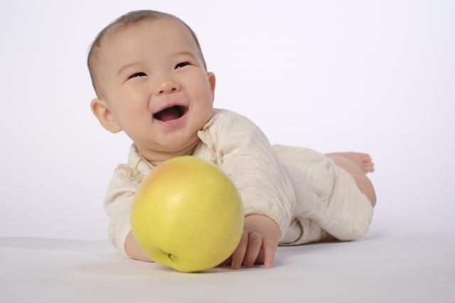 胎教を受けた赤ちゃん