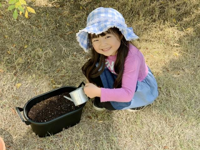 子どもと家庭菜園