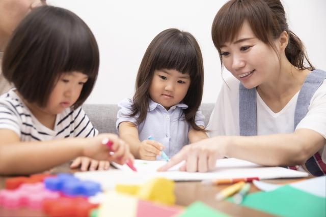 親子一緒に英語の勉強
